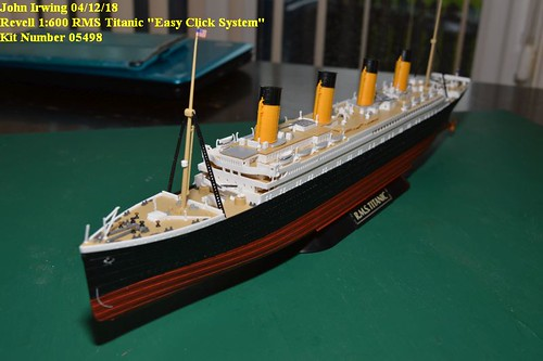 revell titanic 1 400 instructions