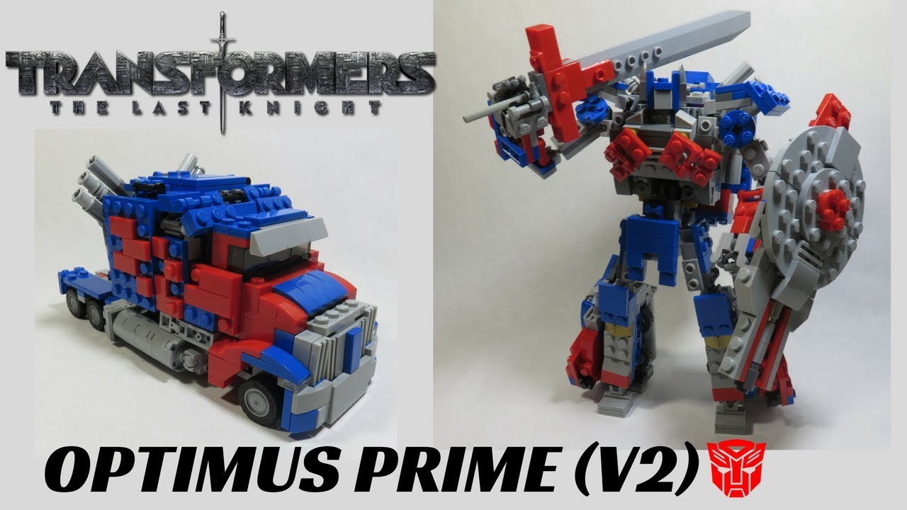 optimus prime the last knight toy instructions