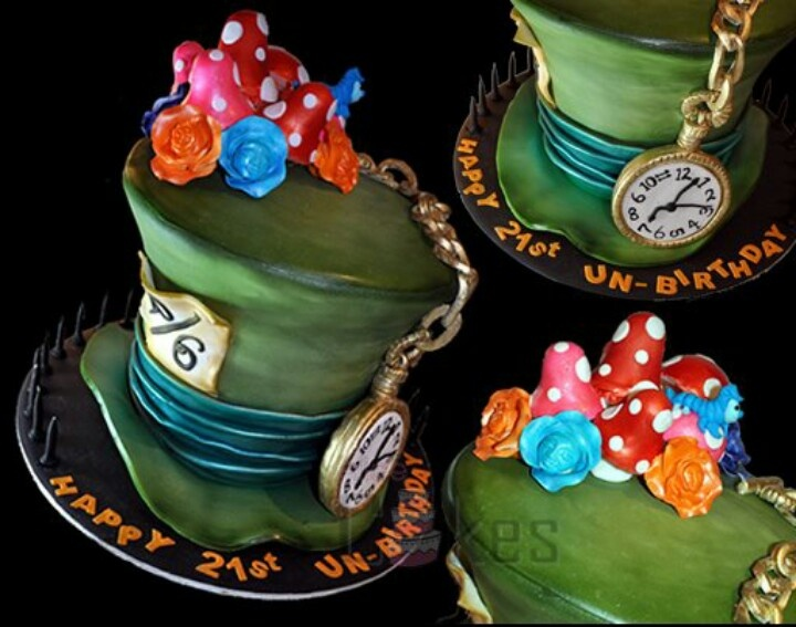 mad hatter cake instructions
