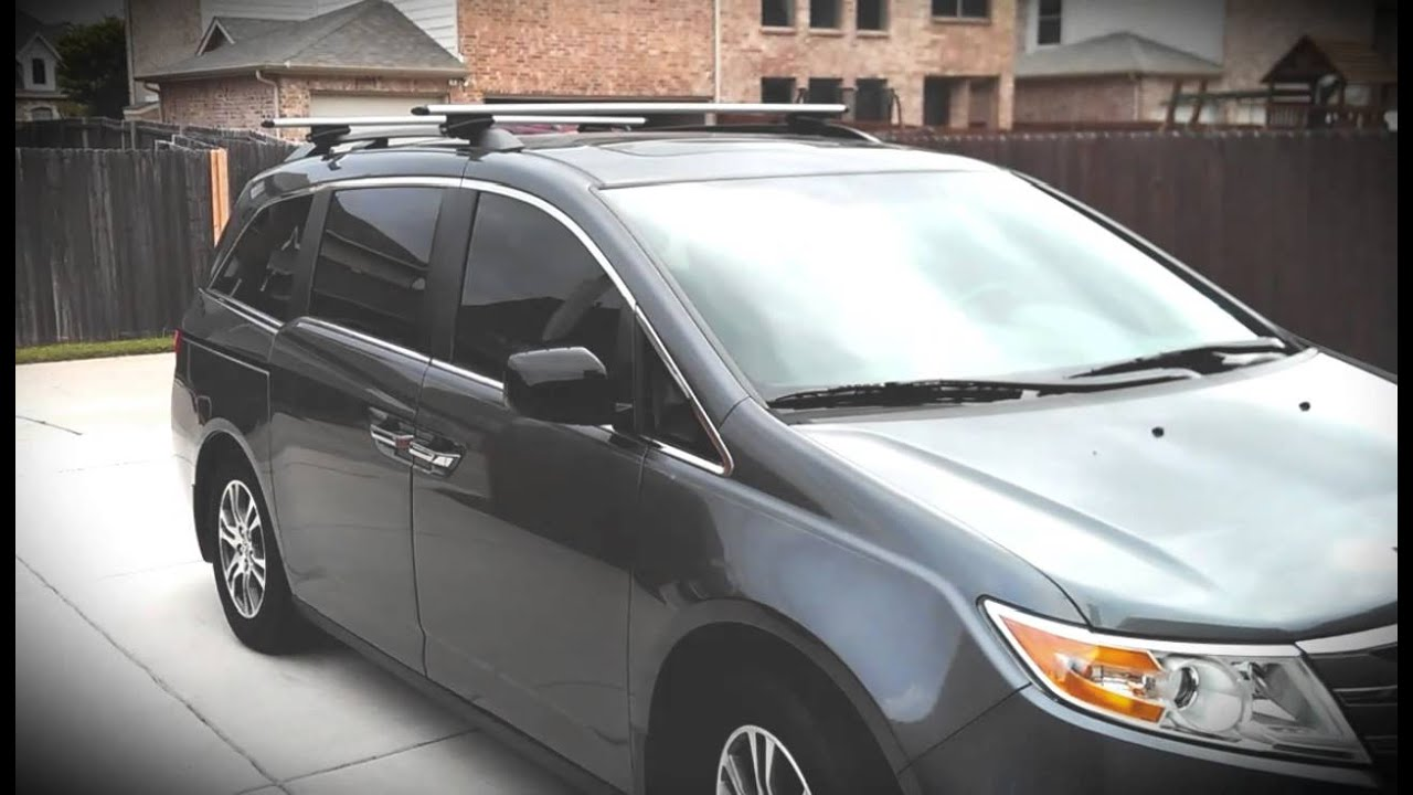 honda odyssey roof rack installation instructions