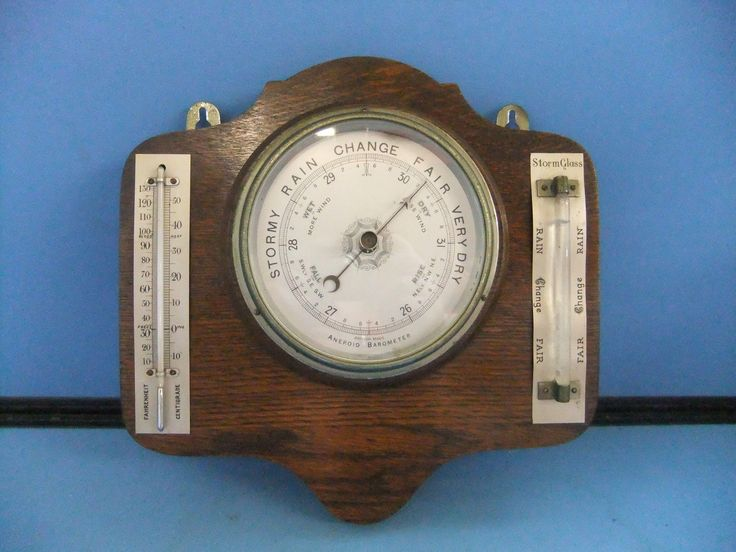 weather glass barometer instructions