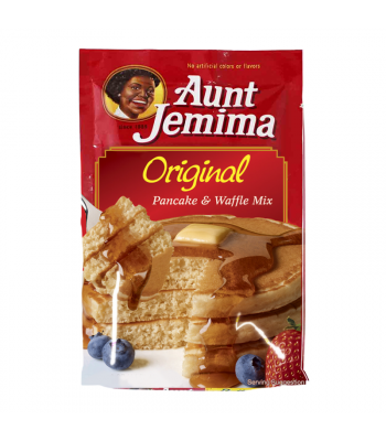 aunt jemima waffle mix instructions