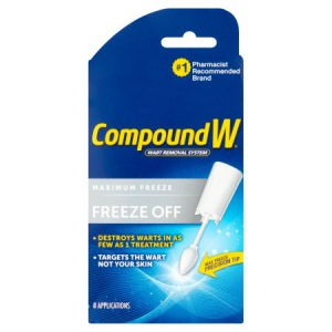 compound w freeze off instructions