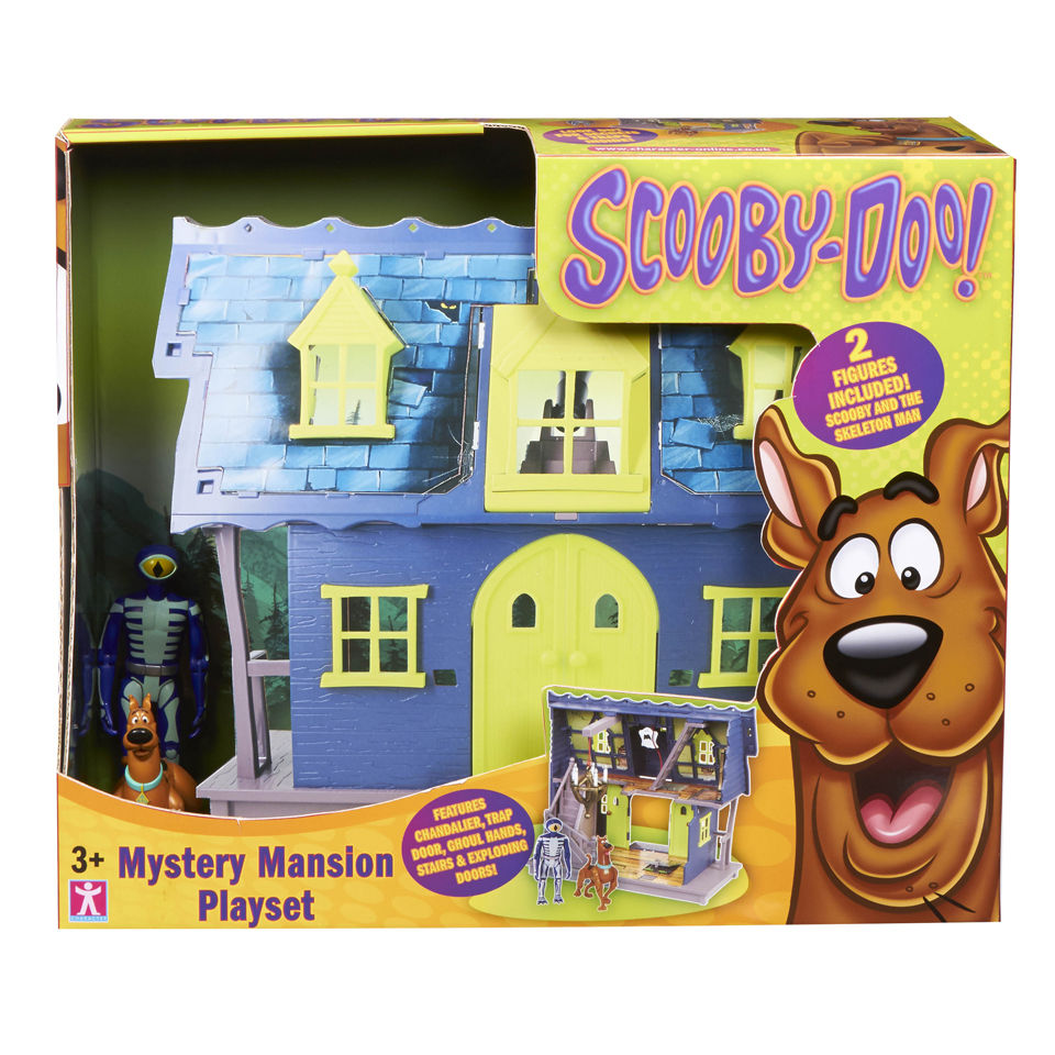 scooby doo mystery mansion instructions