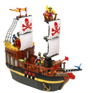 fisher price imaginext pirate ship instructions