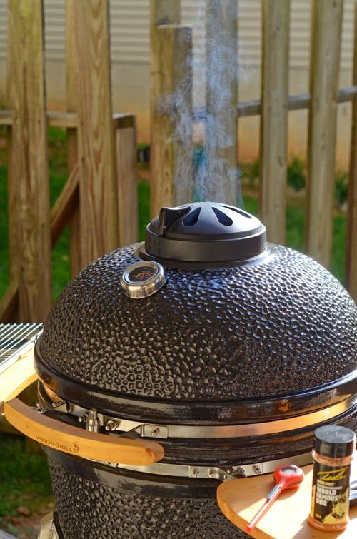 vision kamado grill assembly instructions