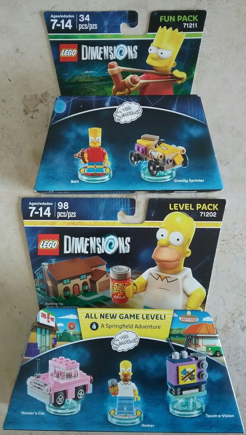 lego dimensions homer instructions