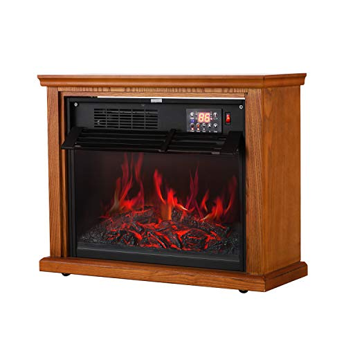 noma wood cabinet infrared heater instructions