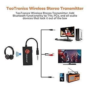 taotronics bluetooth transmitter instructions
