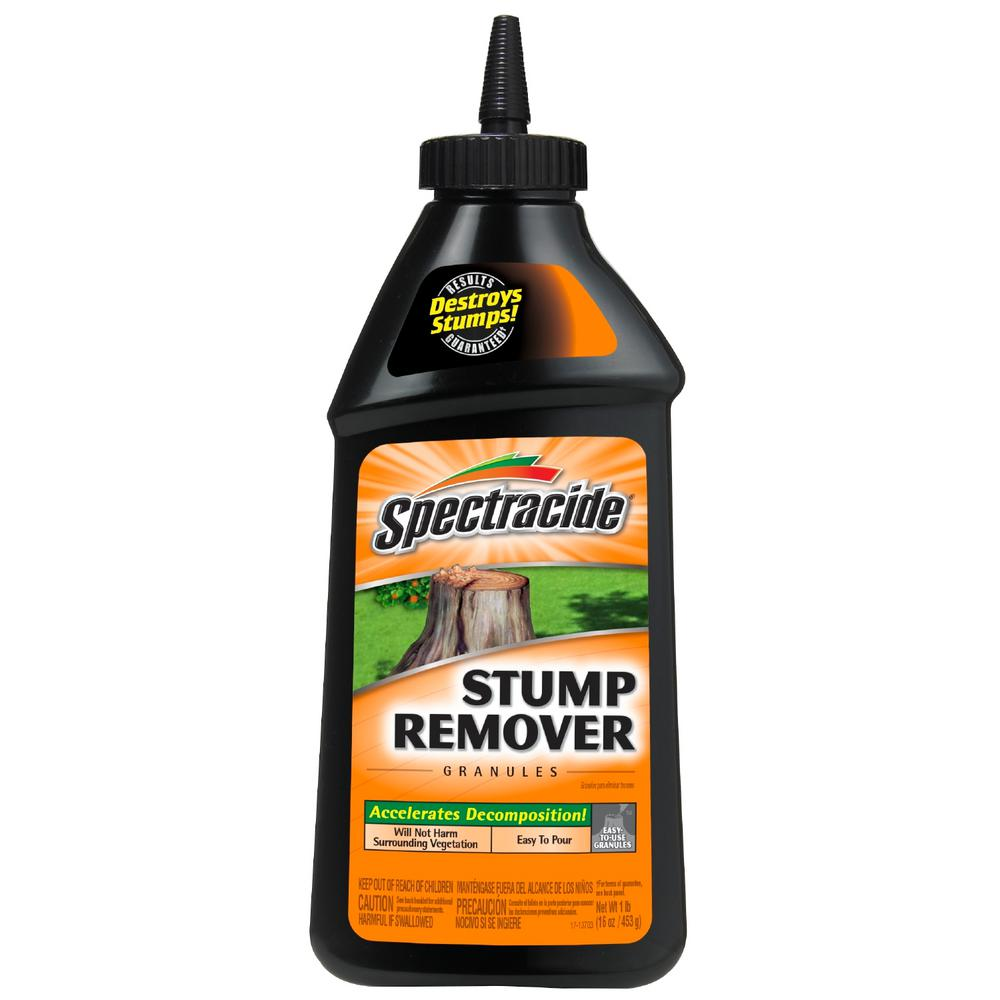 spectracide stump remover instructions