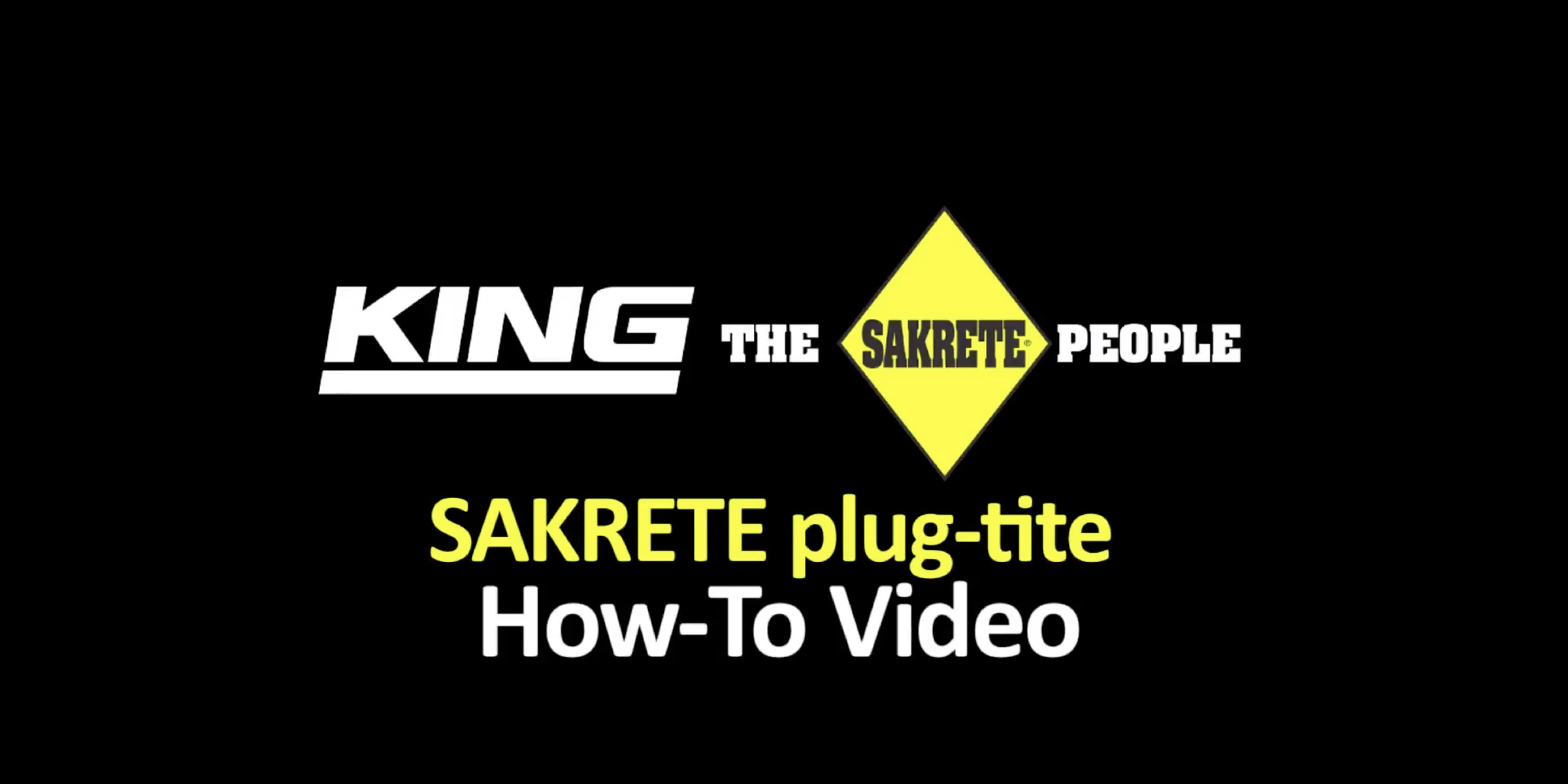 sakrete rapid post instructions