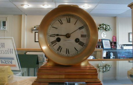 hamilton mantel clock instructions