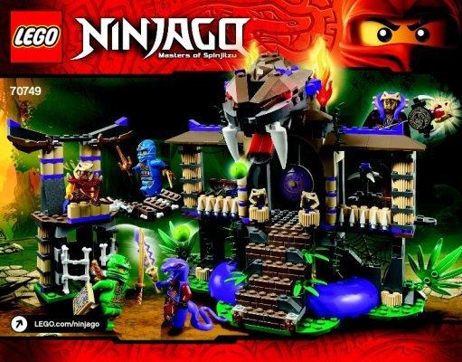 lego ninjago building instructions