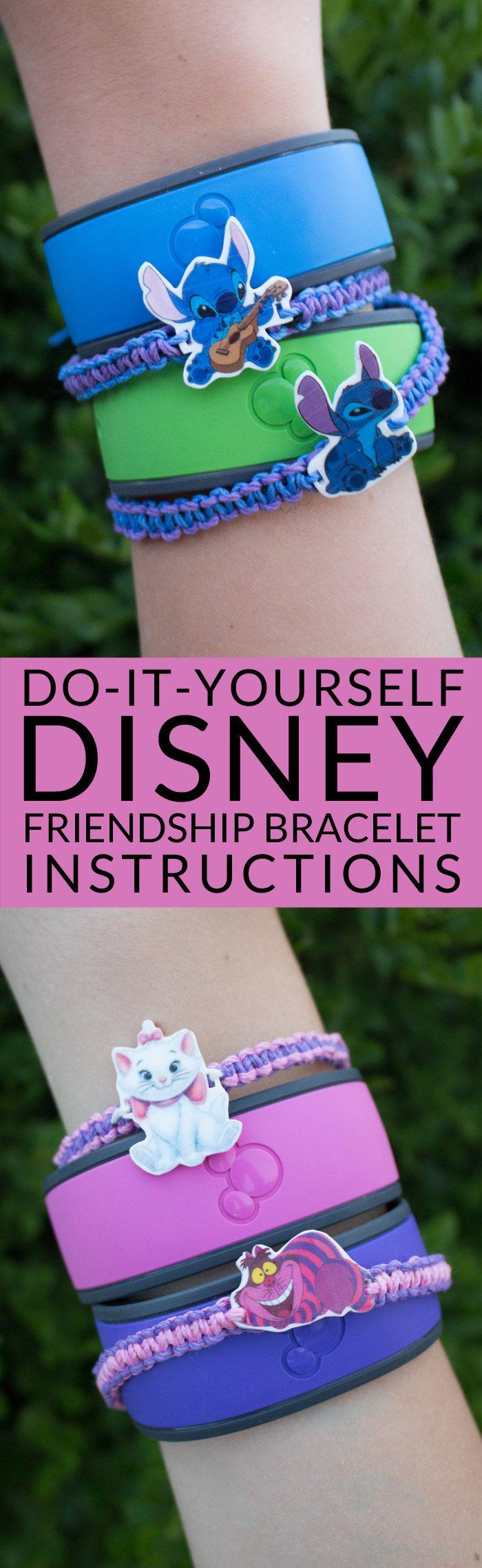 simple friendship bracelet instructions