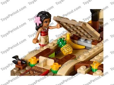 moana lego set instructions
