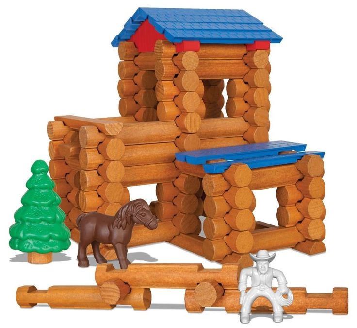 lincoln logs building instructions