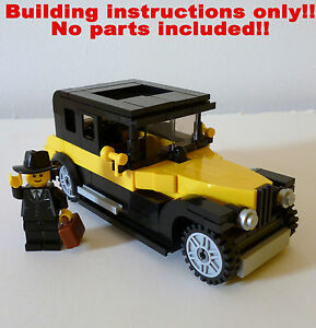 lego dimensions car building instructions