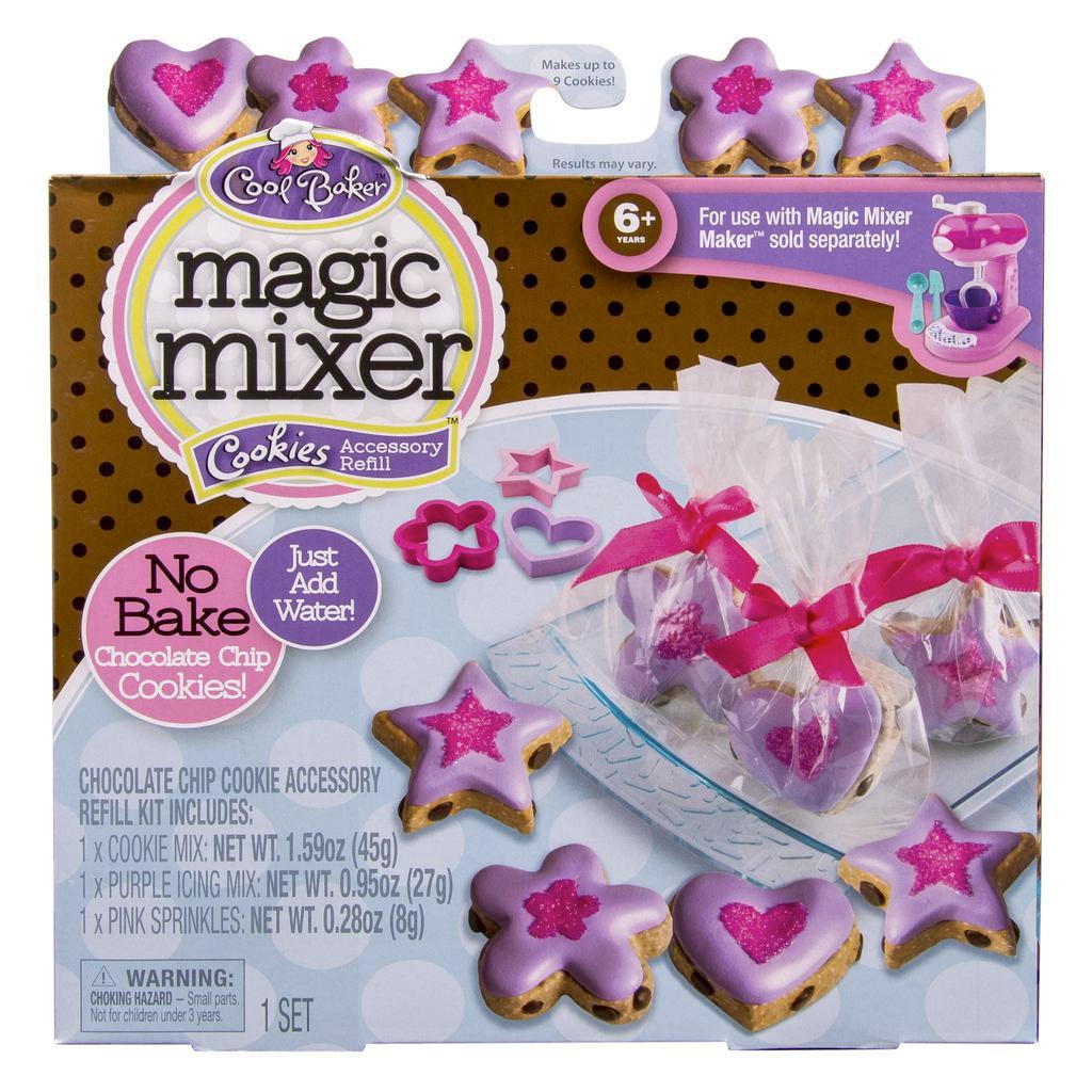magic mixer maker brownie instructions