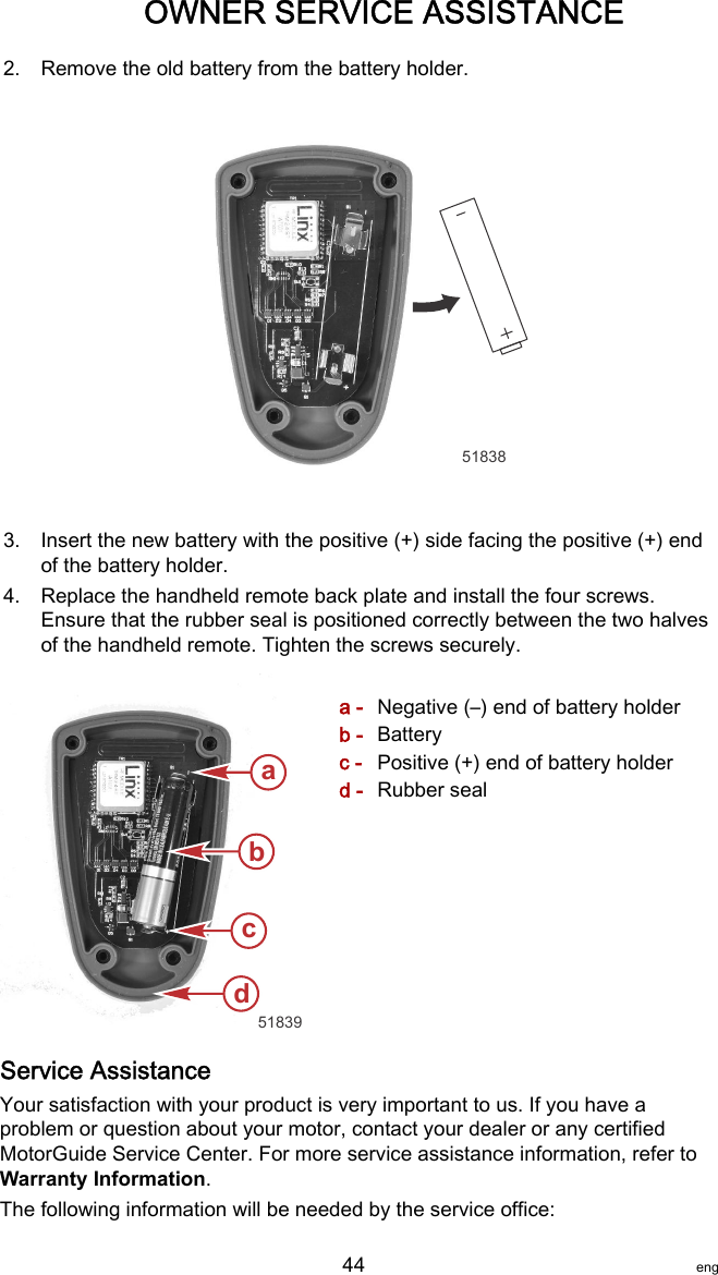 motorguide foot pedal instructions
