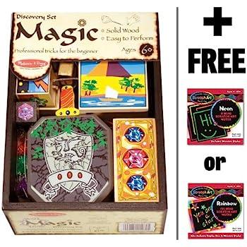 melissa and doug incredible illusions magic set instructions