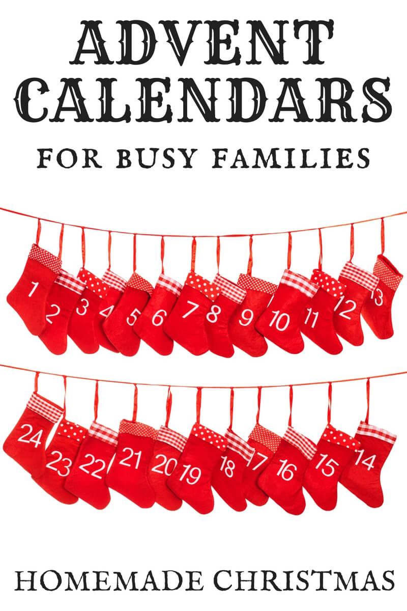 homemade advent calendar instructions