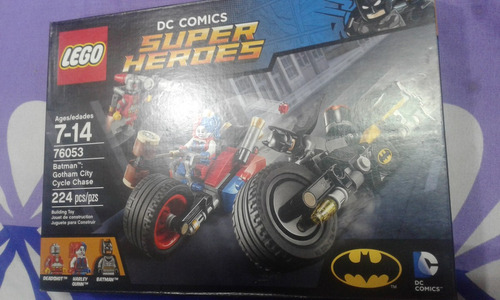 lego gotham city cycle chase instructions