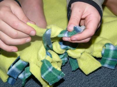 no sew blanket instructions