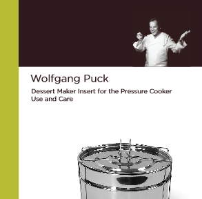wolfgang puck multi cooker instruction manual