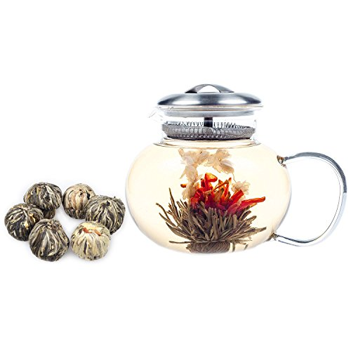blooming tea balls instructions