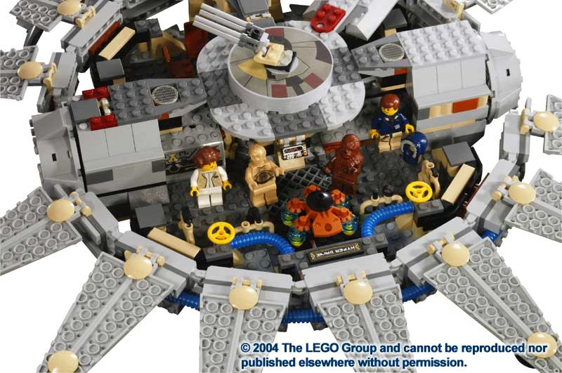 millennium falcon lego instructions 4504