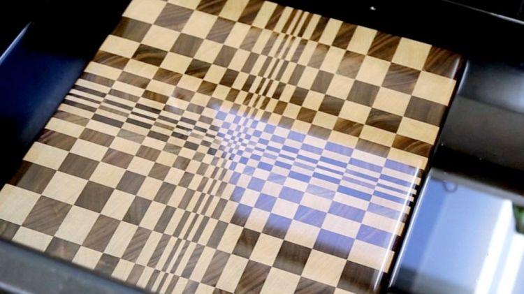 3d cutting board instructions