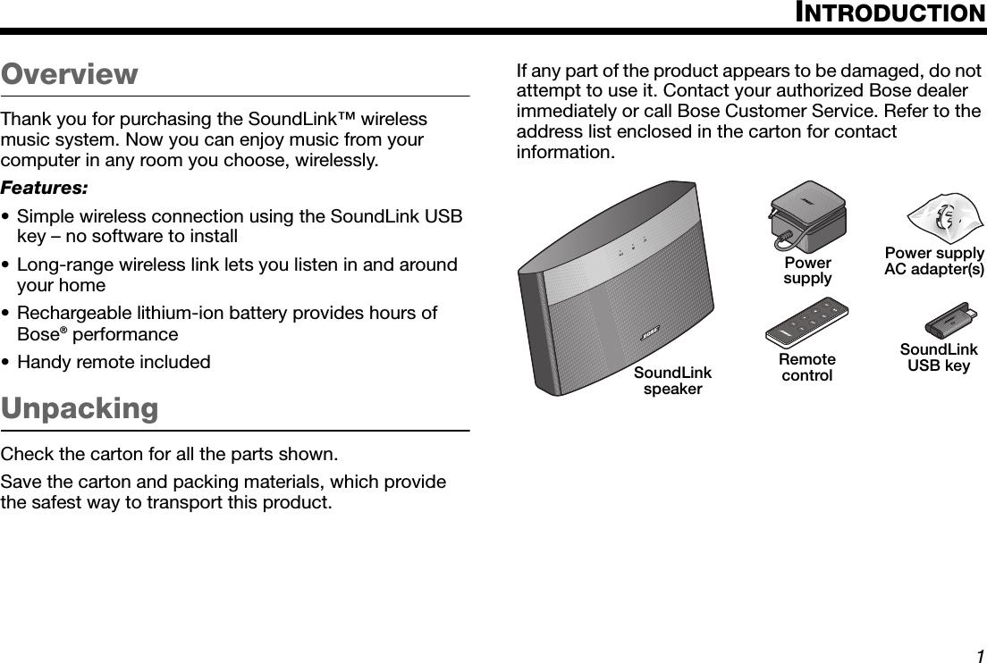 bose soundlink pairing instructions