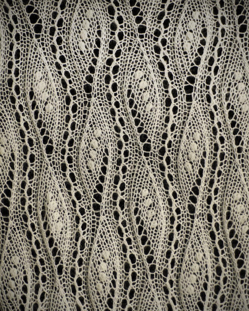lace knitting stitches instructions