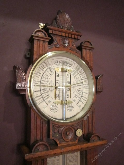 admiral fitzroy barometer instructions