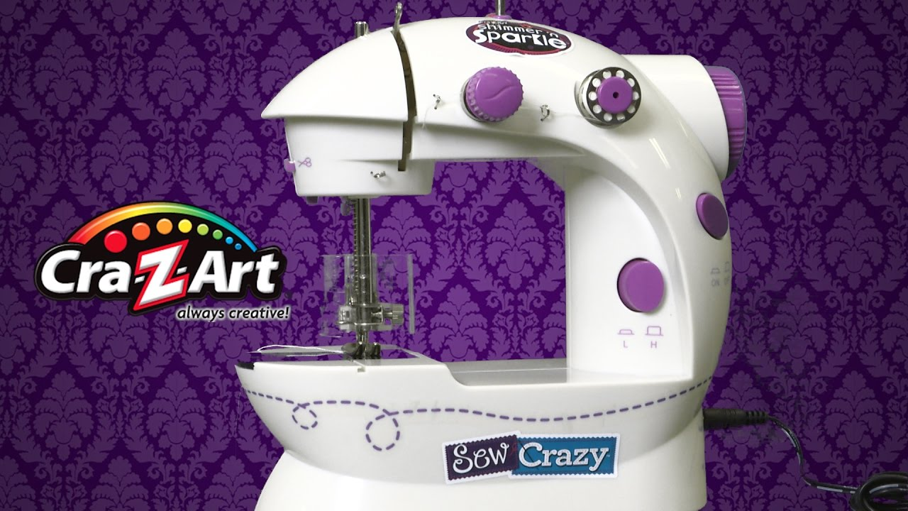 shimmer and sparkle sewing machine instructions