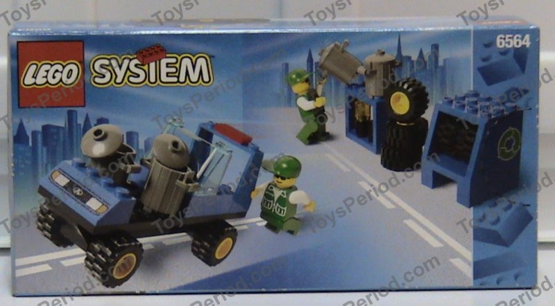 lego city recycling truck instructions