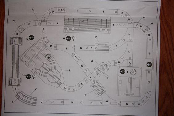 universe of imaginarium train table instructions