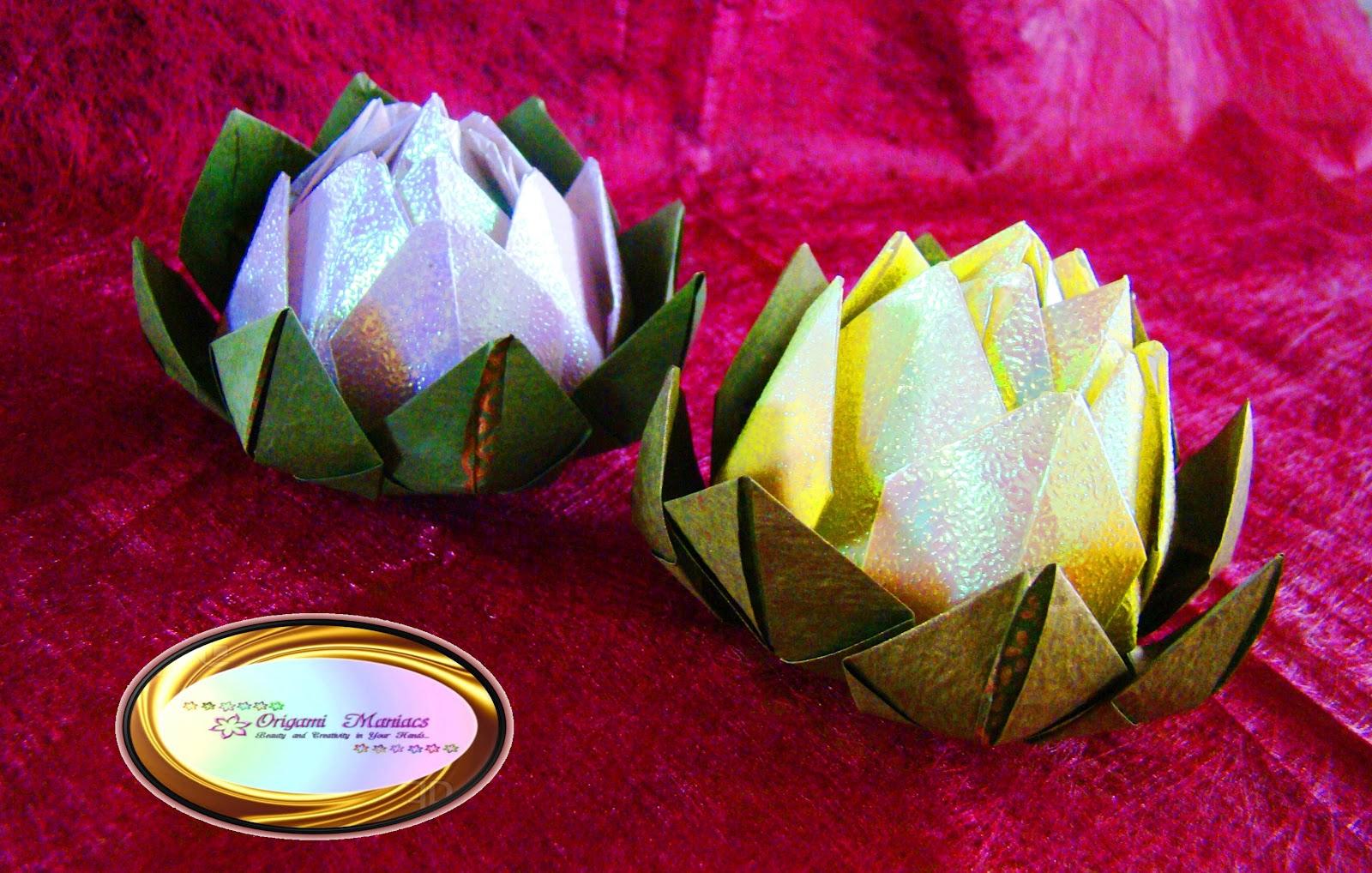 origami lotus flower instructions