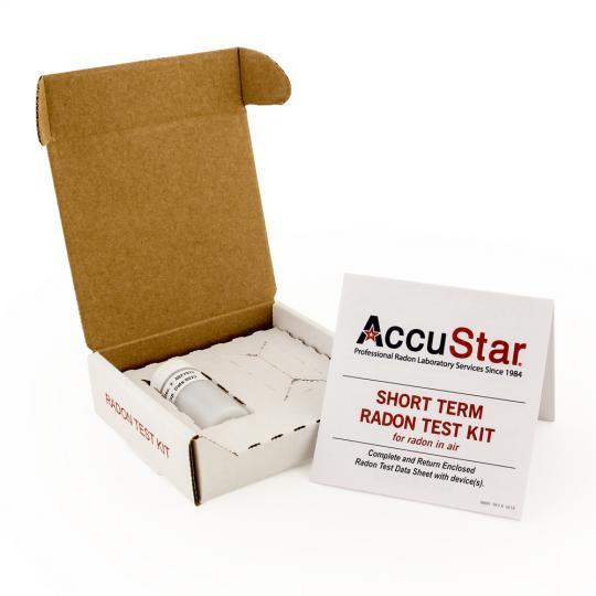 accustar radon test instructions