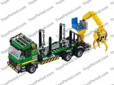 lego logging truck instructions