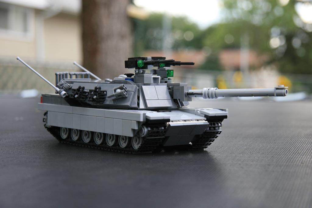 lego m1a1 abrams tank instructions