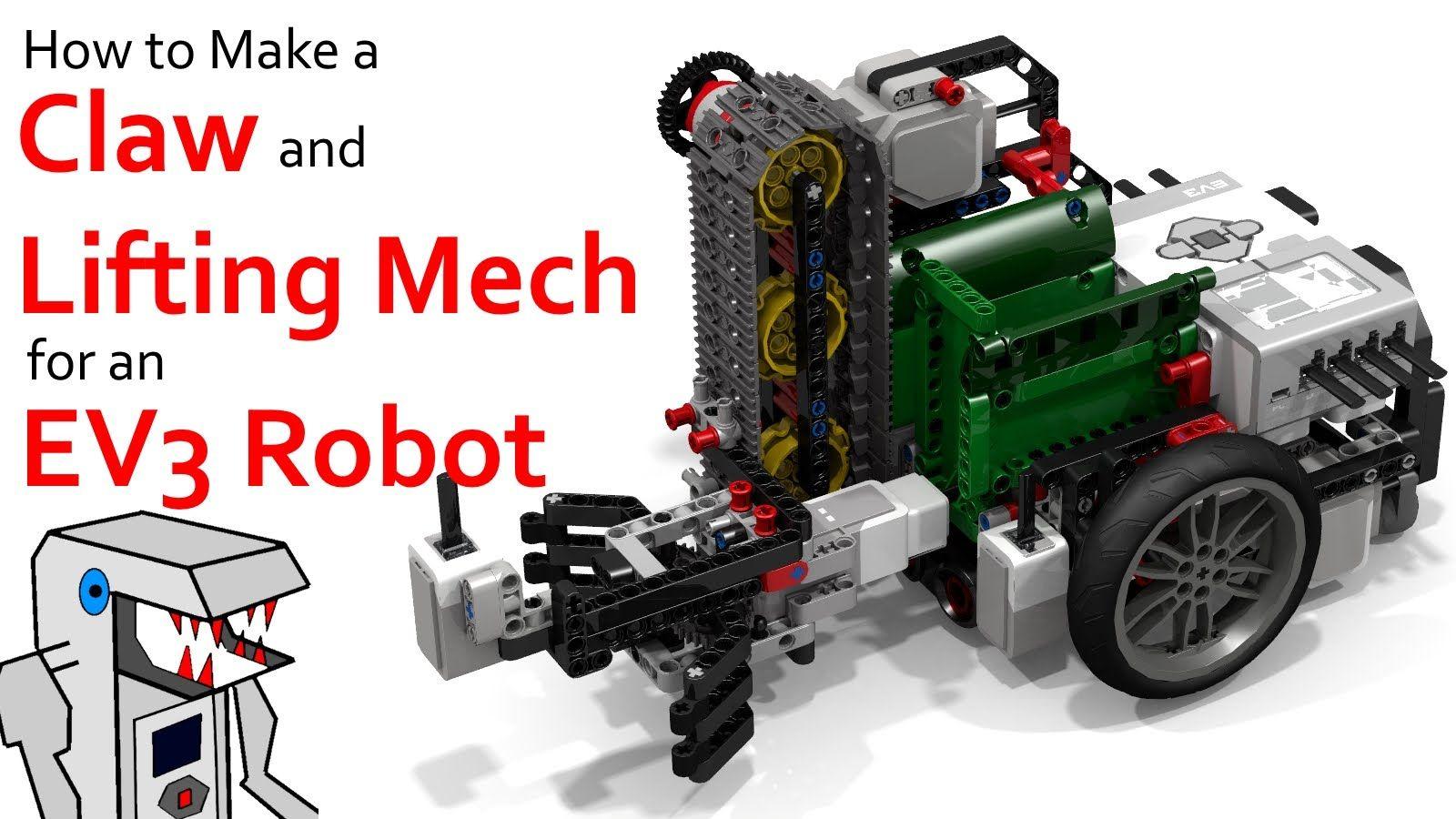 fll ev3 robot building instructions