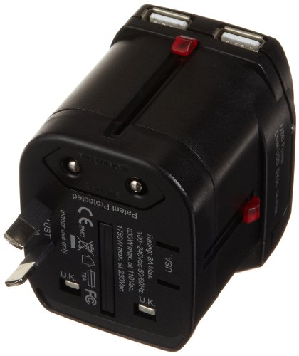 samsonite universal power adapter instructions