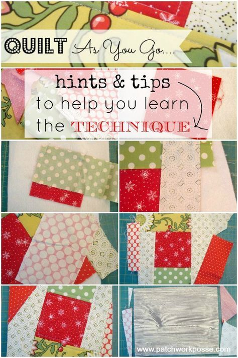 quilt to give instructions