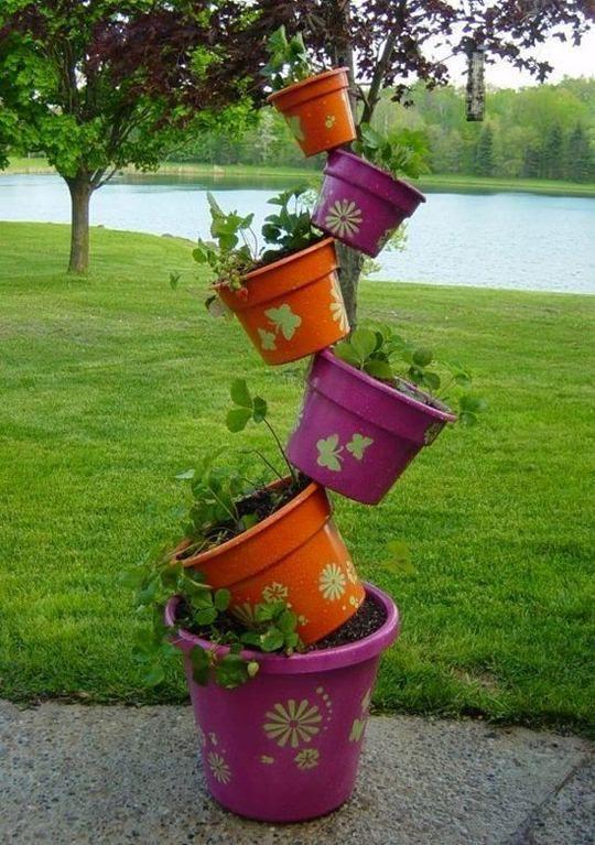 topsy turvy planter instructions