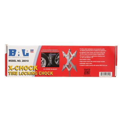 bal x chock instructions