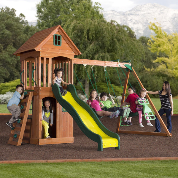 wooden swing set instructions