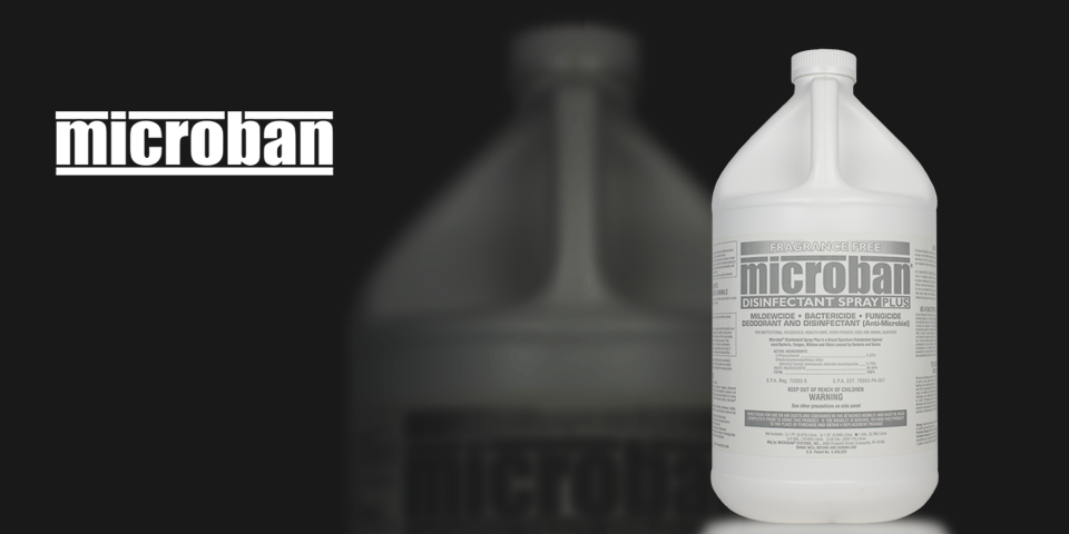 microban disinfectant spray plus instructions