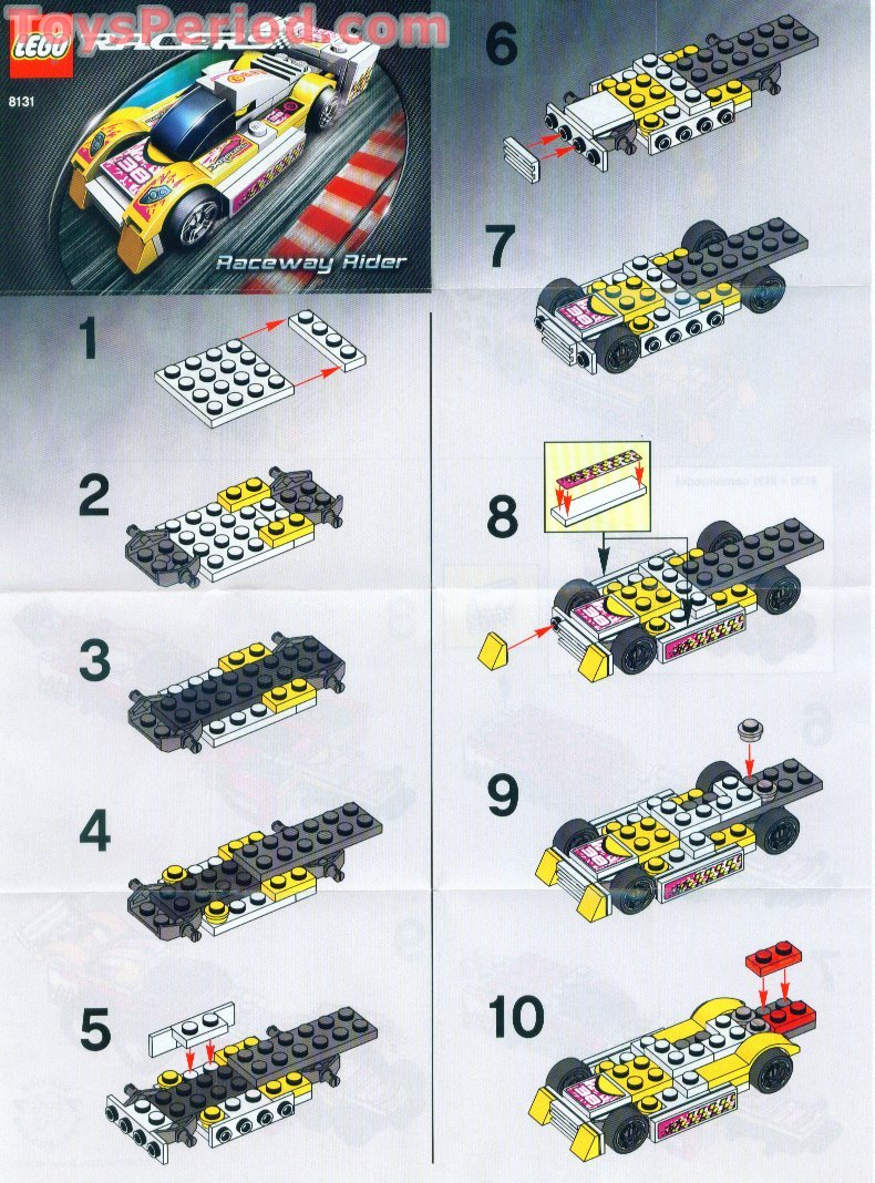 lego racers building instructions