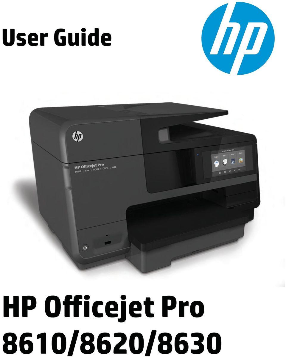 hp printer instruction manual